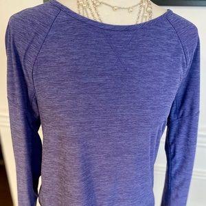 Apana Long Sleeve Yoga Activewear Top, Small
